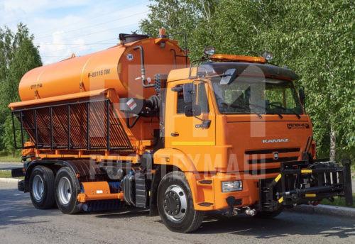 Купить КДМ на базе КамАЗ 65115 и другие модели на шасси КамАЗ, ГАЗ, МАЗ, УРАЛ, УРАЛ - NEXT, низкие цены и выгодные условия от компании РостТехМаш!