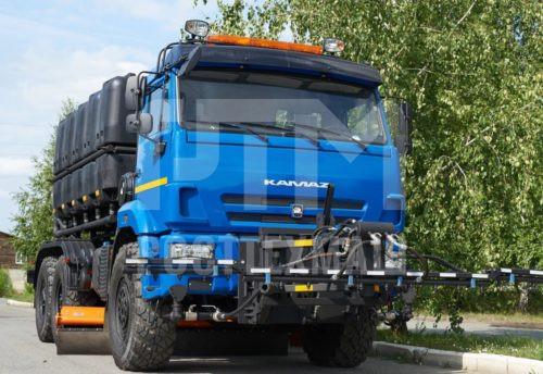 Купить КДМ на базе КамАЗ 43118 (с пластиковыми баками) и другие модели на шасси КамАЗ, ГАЗ, МАЗ, УРАЛ, УРАЛ - NEXT, низкие цены и выгодные условия от компании РостТехМаш!