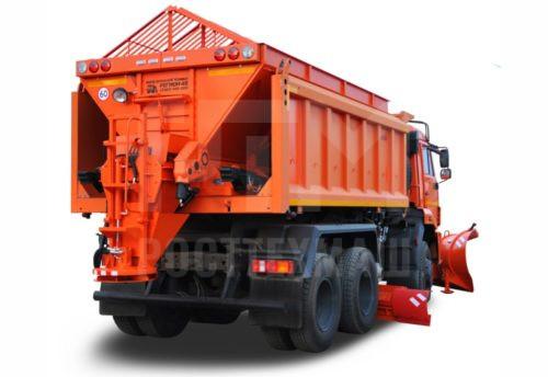 Купить КДМ на базе самосвала КамАЗ 65111 и другие модели на шасси КамАЗ, ГАЗ, МАЗ, УРАЛ, УРАЛ - NEXT, низкие цены и выгодные условия от компании РостТехМаш!