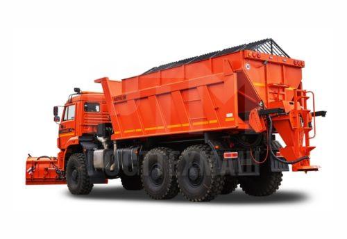 Купить КДМ на базе самосвала КамАЗ 65222 и другие модели на шасси КамАЗ, ГАЗ, МАЗ, УРАЛ, УРАЛ - NEXT, низкие цены и выгодные условия от компании РостТехМаш!