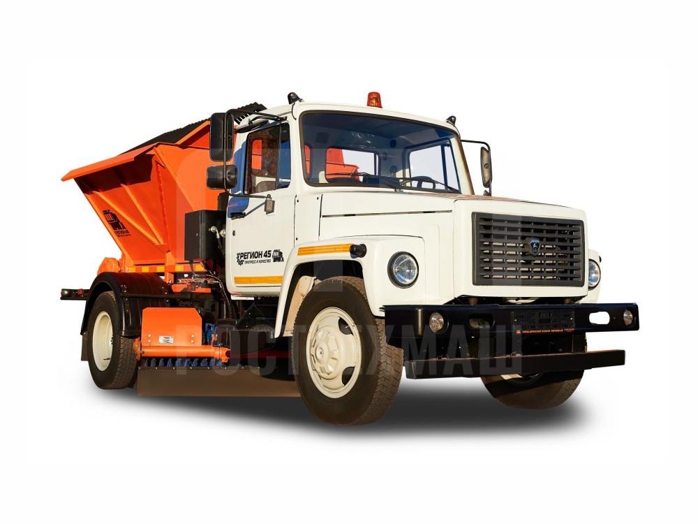 Купить КДМ на базе ГАЗ 3309 и другие модели на шасси КамАЗ, ГАЗ, МАЗ, УРАЛ, УРАЛ - NEXT, низкие цены и выгодные условия от компании РостТехМаш!