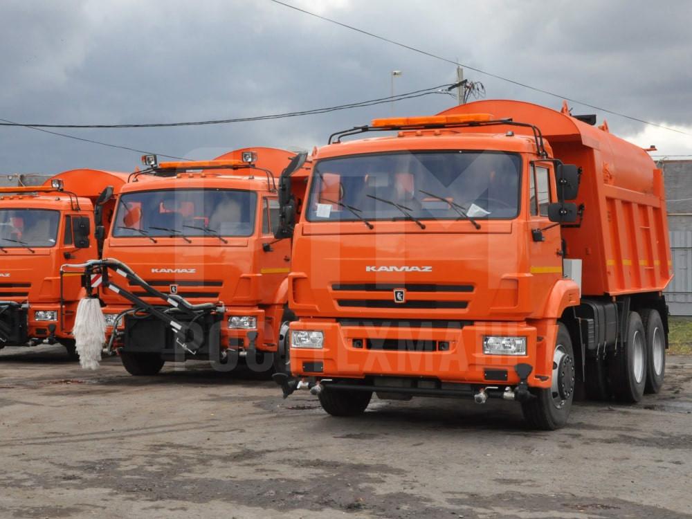Купить КДМ на базе самосвала КамАЗ 65115 и другие модели на шасси КамАЗ, ГАЗ, МАЗ, УРАЛ, УРАЛ - NEXT, низкие цены и выгодные условия от компании РостТехМаш!