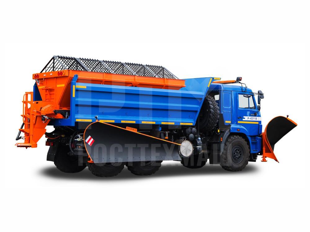Купить КДМ на базе самосвала КамАЗ 43118 и другие модели на шасси КамАЗ, ГАЗ, МАЗ, УРАЛ, УРАЛ - NEXT, низкие цены и выгодные условия от компании РостТехМаш!