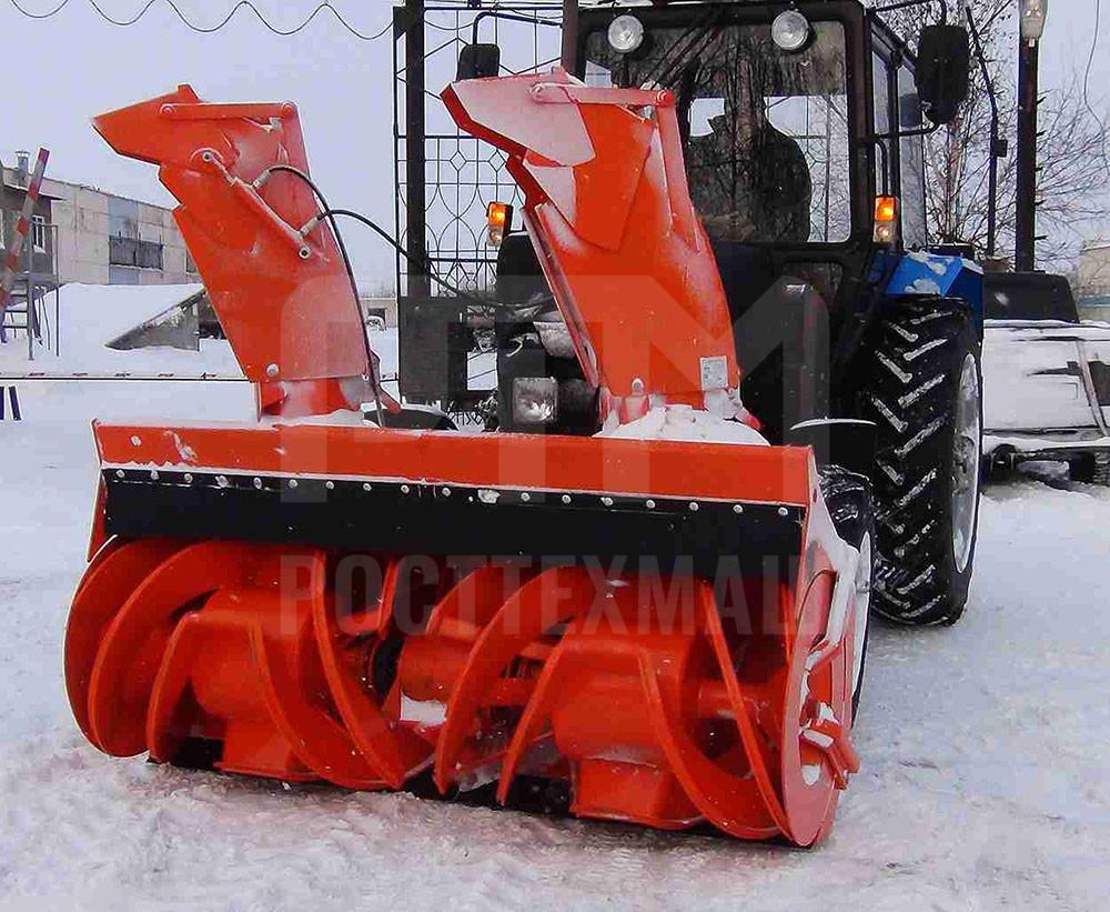 Купить Фрезерно-роторный cнегоочиститель СУ 2.1 и другое оборудование для уборки снега по низкой цене и на выгодных условиях от компании РостТехМаш!