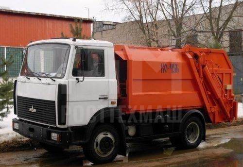 Купить Мусоровоз МАЗ с задней загрузкой КО-456-16 и другие модели на шасси КамАЗ, ГАЗ, ГАЗ - NEXT, МАЗ, УРАЛ, HYUNDAI, MAN, Dongfeng, низкие цены и выгодные условия от компании РостТехМаш!оз МАЗ контейнерный КО-452 и другую спецтехнику на шасси КамАЗ, ГАЗ, МАЗ УРАЛ, УРАЛ - NEXT, низкие цены и выгодные условия от компании РостТехМаш!