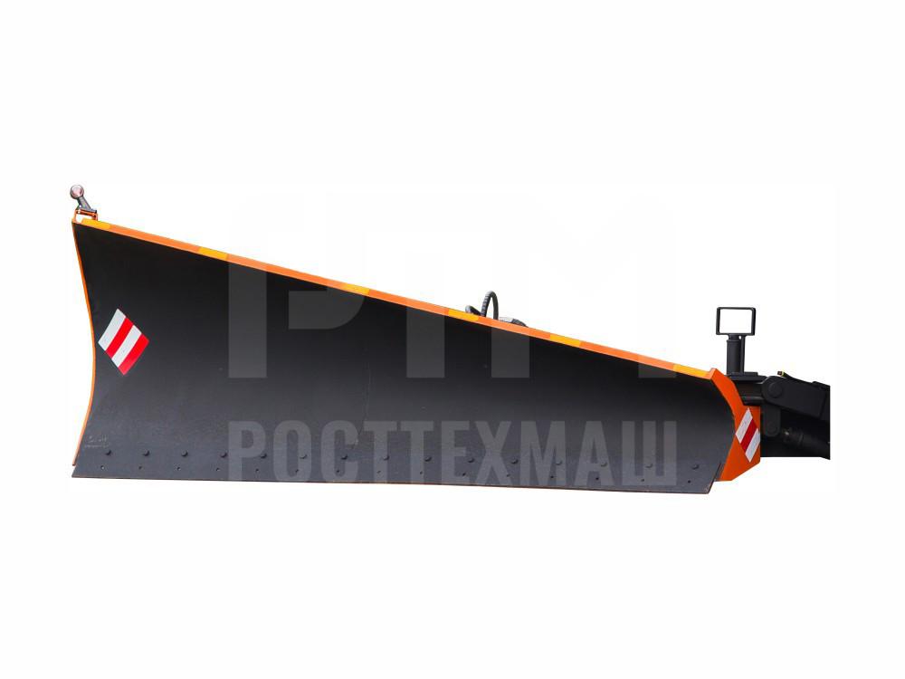 Купить Боковой отвал для КДМ и другое навесное оборудование для КДМ по низкой цене и на выгодных условиях от компании РостТехМаш!