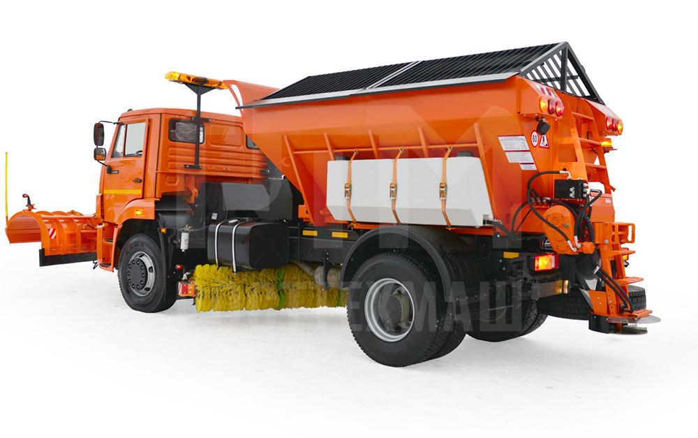 Купить КДМ на базе КамАЗ 76-10 и другие модели на шасси КамАЗ, ГАЗ, МАЗ, УРАЛ, УРАЛ - NEXT, низкие цены и выгодные условия от компании РостТехМаш!