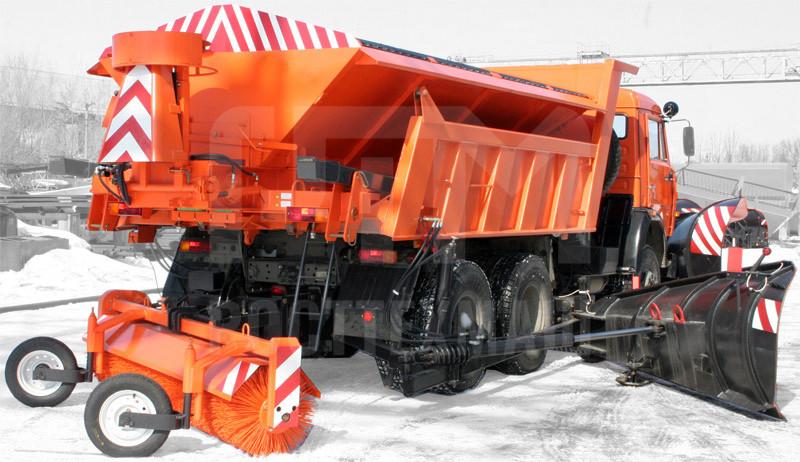 Купить КДМ на базе самосвала КамАЗ ДМК-40 и другие модели на шасси КамАЗ, ГАЗ, МАЗ, УРАЛ, УРАЛ - NEXT, низкие цены и выгодные условия от компании РостТехМаш!