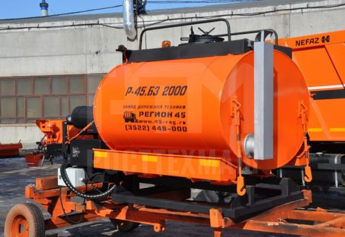 Купить Битумозаливщик БЗ 2000 и другое прицепное оборудование по низкой цене и на выгодных условиях от компании РостТехМаш!