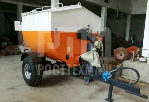 Купить Рециклер асфальтобетона ЕМ-3200 и другое оборудование для ямочного ремонта по низкой цене и на выгодных условиях от компании РостТехМаш!