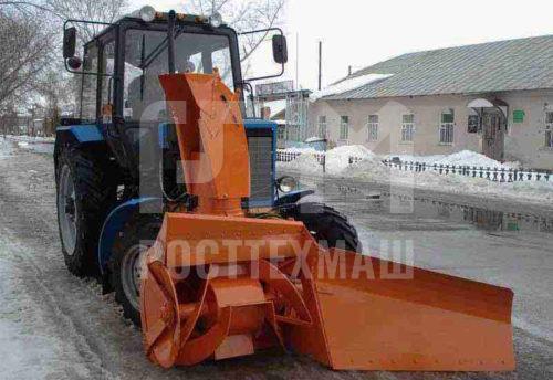 Купить Фрезерно-роторный снегоочиститель СУ 2.1 ОМ и другое оборудование для уборки снега по низкой цене и на выгодных условиях от компании РостТехМаш!