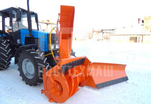 Купить Фрезерно-роторный снегоочиститель СУ 2.5 ОМ «Чистая Работа» и другое оборудование для уборки снега по низкой цене и на выгодных условиях от компании РостТехМаш!