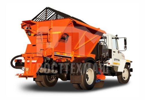 Купить Пескоразбрасыватель КДМ и другое навесное оборудование для КДМ по низкой цене и на выгодных условиях от компании РостТехМаш!
