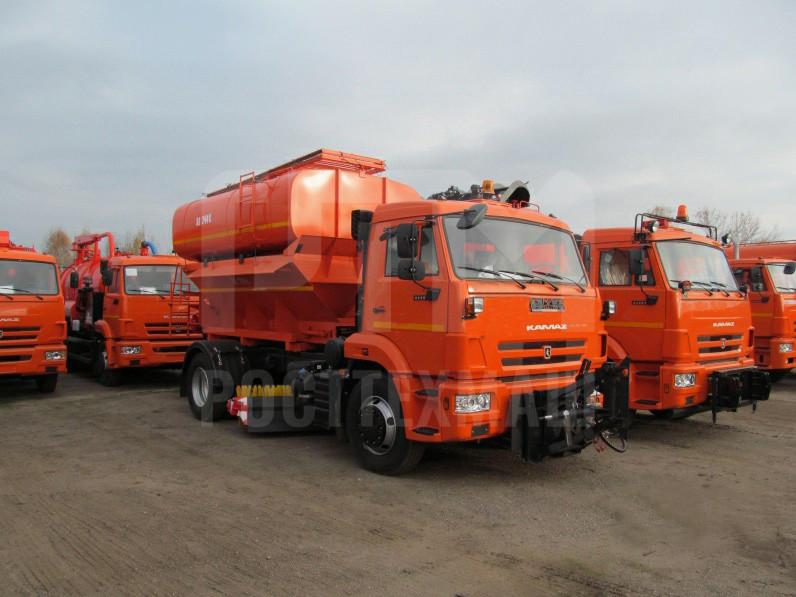 Купить КДМ на базе КамАЗ ЭД-244К и другие модели на шасси КамАЗ, ГАЗ, МАЗ, УРАЛ, УРАЛ - NEXT, низкие цены и выгодные условия от компании РостТехМаш!