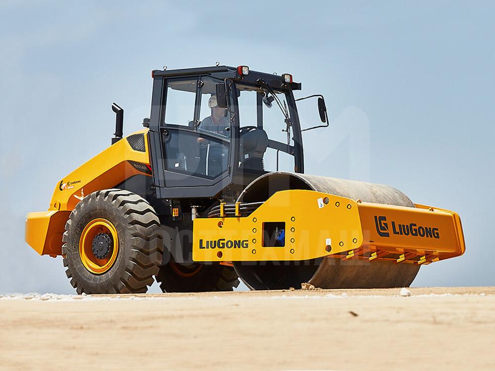 Купить Каток грунтовый LIUGONG 6114 и другие модели от производителей DM, Dunapac, LiuGong, XCMG, XGMA, Раскат, Bomag, низкие цены и выгодные условия от компании РостТехМаш!