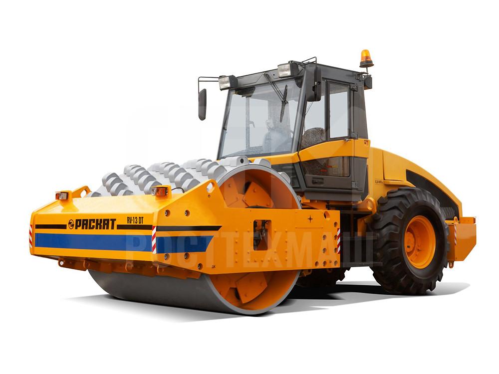Купить Каток грунтовый РАСКАТ RV-13,0 DT и другие модели от производителей DM, Dunapac, LiuGong, XCMG, XGMA, Раскат, Bomag, низкие цены и выгодные условия от компании РостТехМаш!