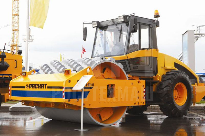 Купить Каток грунтовый РАСКАТ RV-21,0 DT и другие модели от производителей DM, Dunapac, LiuGong, XCMG, XGMA, Раскат, Bomag, низкие цены и выгодные условия от компании РостТехМаш!