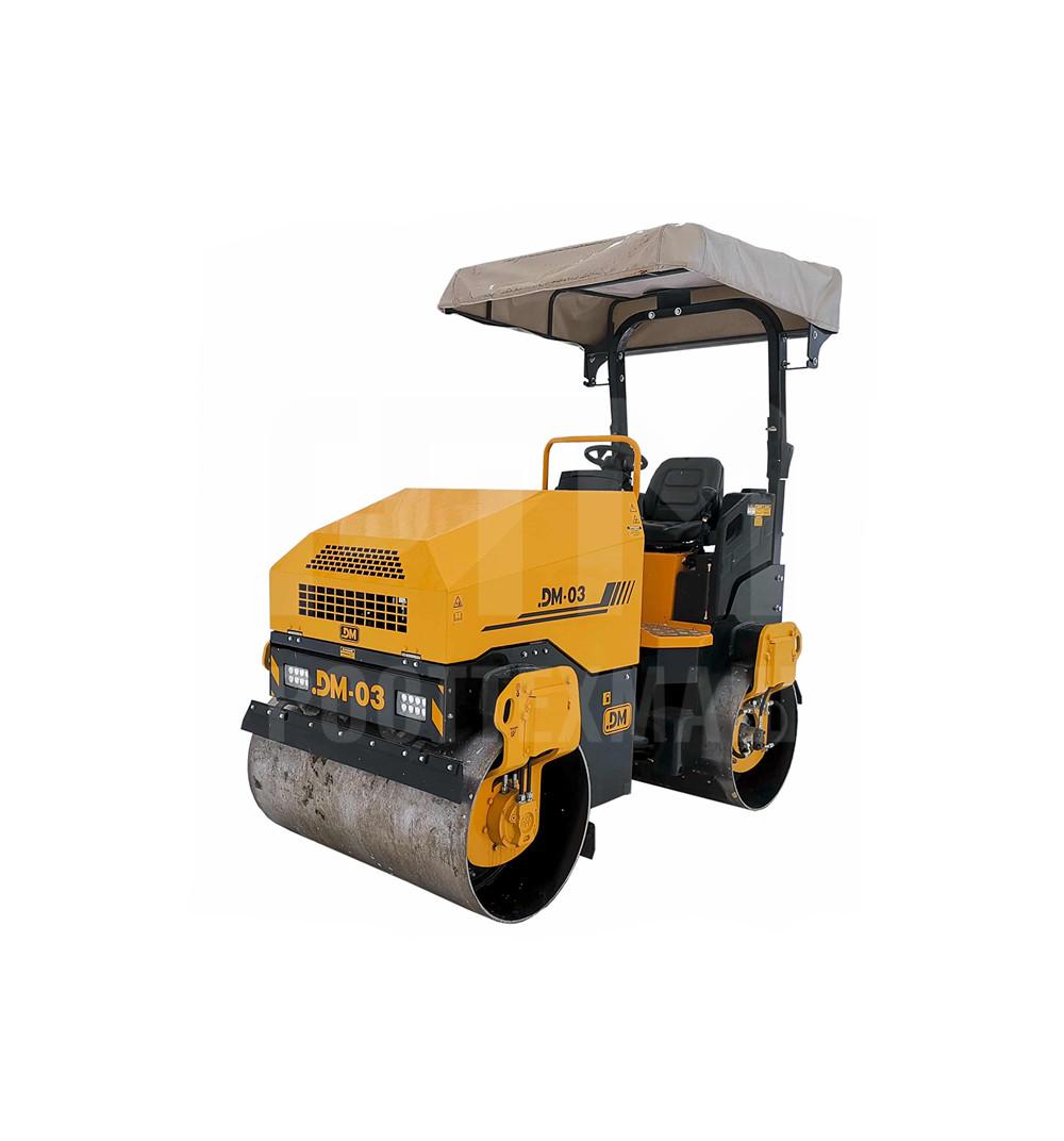 Купить Каток тротуарный DM-03 и другие модели от производителей DM, Dunapac, LiuGong, XCMG, XGMA, Раскат, Bomag, низкие цены и выгодные условия от компании РостТехМаш!