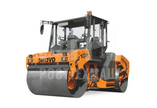 Купить Каток вальцовый DM-13VD и другие модели от производителей DM, Dunapac, LiuGong, XCMG, XGMA, Раскат, Bomag, низкие цены и выгодные условия от компании РостТехМаш!