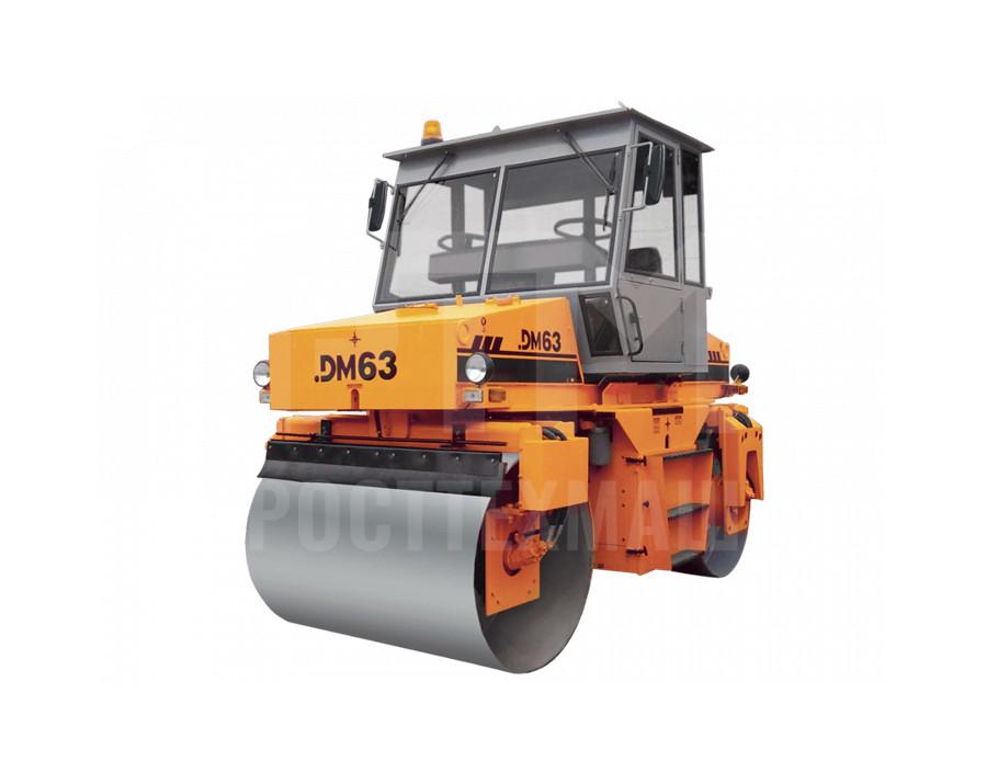 Купить Каток вальцовый DM-63 и другие модели от производителей DM, Dunapac, LiuGong, XCMG, XGMA, Раскат, Bomag, низкие цены и выгодные условия от компании РостТехМаш!