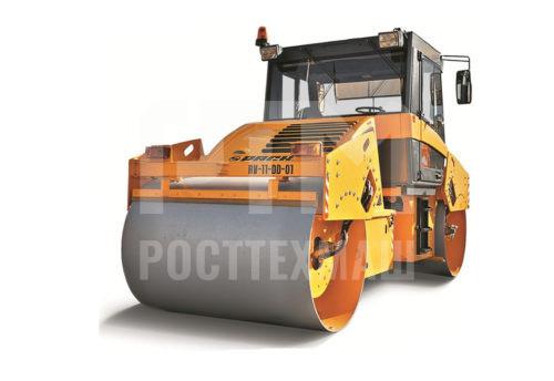 Купить Каток вальцовый РАСКАТ RV-11,0 DD и другие модели от производителей DM, Dunapac, LiuGong, XCMG, XGMA, Раскат, Bomag, низкие цены и выгодные условия от компании РостТехМаш!