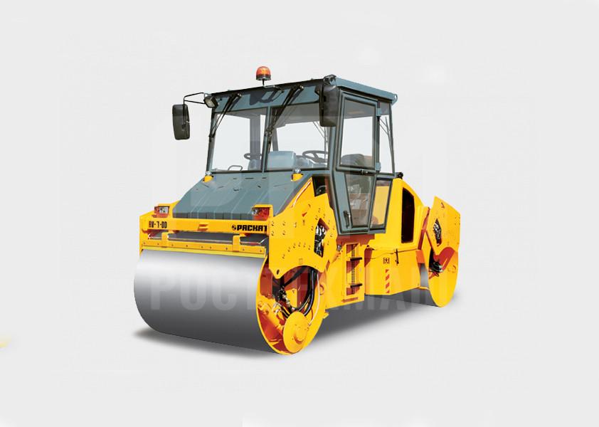 Купить Каток вальцовый РАСКАТ RV-7,0 DD и другие модели от производителей DM, Dunapac, LiuGong, XCMG, XGMA, Раскат, Bomag, низкие цены и выгодные условия от компании РостТехМаш!