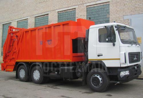 Купить Мусоровоз МАЗ с задней загрузкой КО-427-42 и другие модели на шасси КамАЗ, ГАЗ, ГАЗ - NEXT, МАЗ, УРАЛ, HYUNDAI, MAN, Dongfeng, низкие цены и выгодные условия от компании РостТехМаш!оз МАЗ контейнерный КО-452 и другую спецтехнику на шасси КамАЗ, ГАЗ, МАЗ УРАЛ, УРАЛ - NEXT, низкие цены и выгодные условия от компании РостТехМаш!