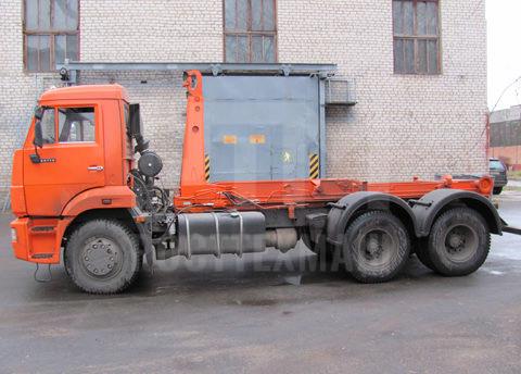 Купить Мусоровоз КамАЗ контейнерный КО-452-13 и другие модели на шасси КамАЗ, ГАЗ, ГАЗ - NEXT, МАЗ, УРАЛ, HYUNDAI, MAN, Dongfeng, низкие цены и выгодные условия от компании РостТехМаш!