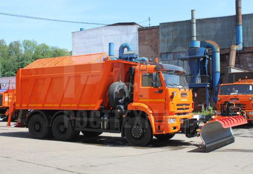 Купить КДМ на базе самосвала КамАЗ ЭД-405В1 и другие модели на шасси КамАЗ, ГАЗ, МАЗ, УРАЛ, УРАЛ - NEXT, низкие цены и выгодные условия от компании РостТехМаш!
