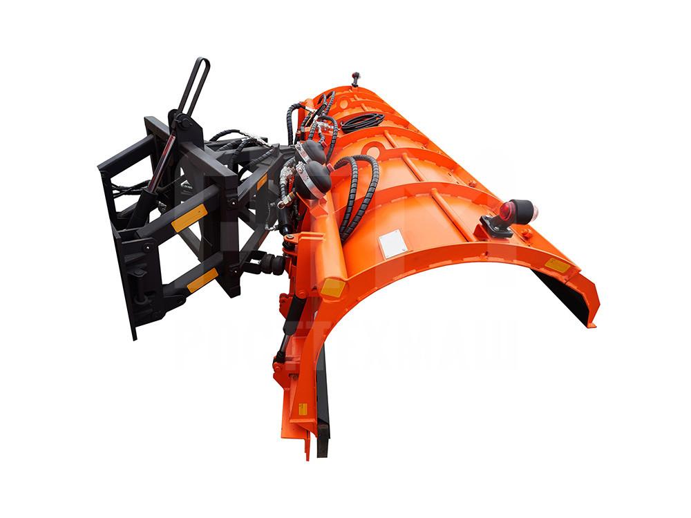 Купить Комбинированный отвал КДМ и другое навесное оборудование для КДМ по низкой цене и на выгодных условиях от компании РостТехМаш!