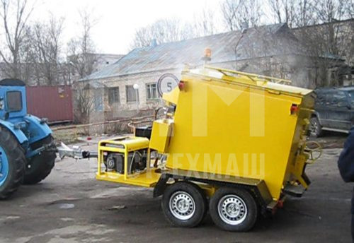 Купить Установка приготовления и транспортировки литого асфальтобетона «Бастион ЛА-01» и другое оборудование для ямочного ремонта по низкой цене и на выгодных условиях от компании РостТехМаш!
