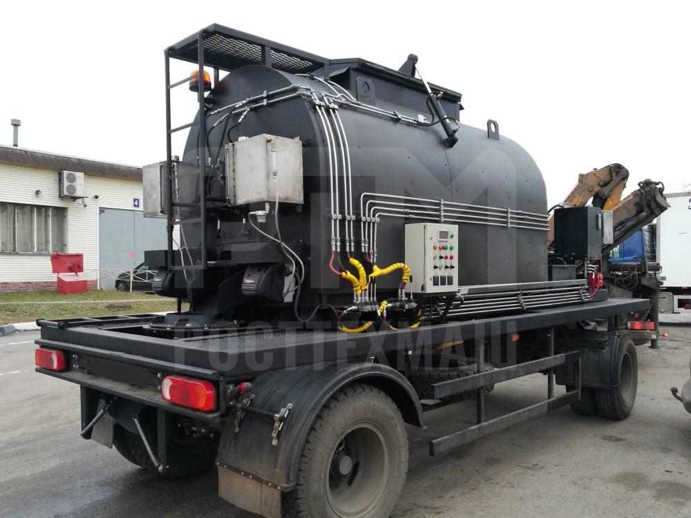 Купить Установка для транспортировки литого асфальтобето «БАСТИОН-ЛА-04» и другое оборудование для ямочного ремонта по низкой цене и на выгодных условиях от компании РостТехМаш!