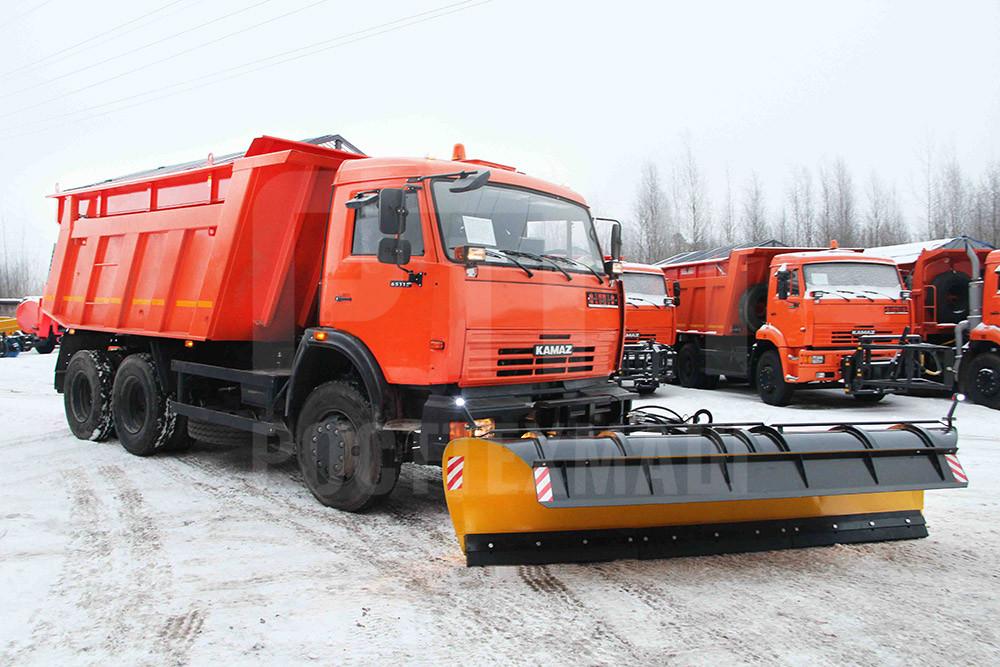 Купить МКДУ-2 на базе самосвала КамАЗ 65115 и другую спецтехнику на шасси КамАЗ, ГАЗ, МАЗ УРАЛ, УРАЛ - NEXT, низкие цены и выгодные условия от компании РостТехМаш!