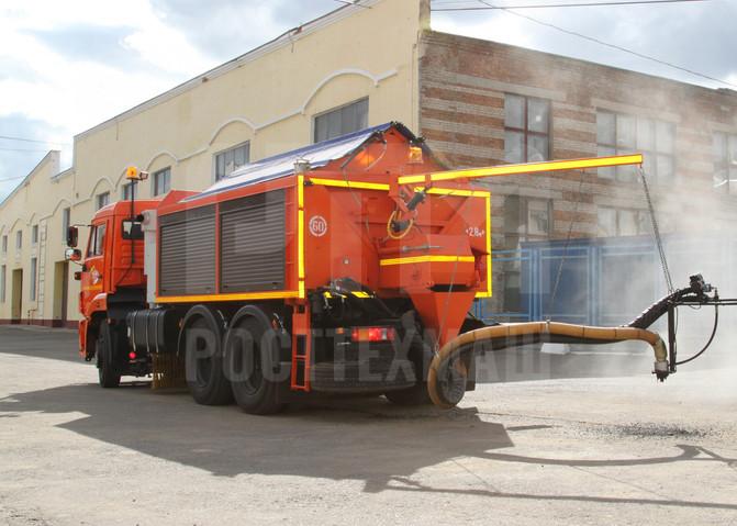 Купить Оборудование для ямочного ремонта ЯР 5 и другое оборудование для ямочного ремонта по низкой цене и на выгодных условиях от компании РостТехМаш!