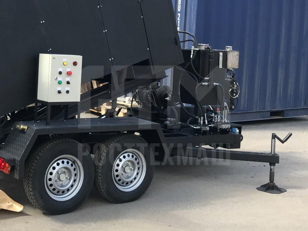 Купить Рециклер асфальтобетона «Бастион-РАБ» и другое оборудование для ямочного ремонта по низкой цене и на выгодных условиях от компании РостТехМаш!