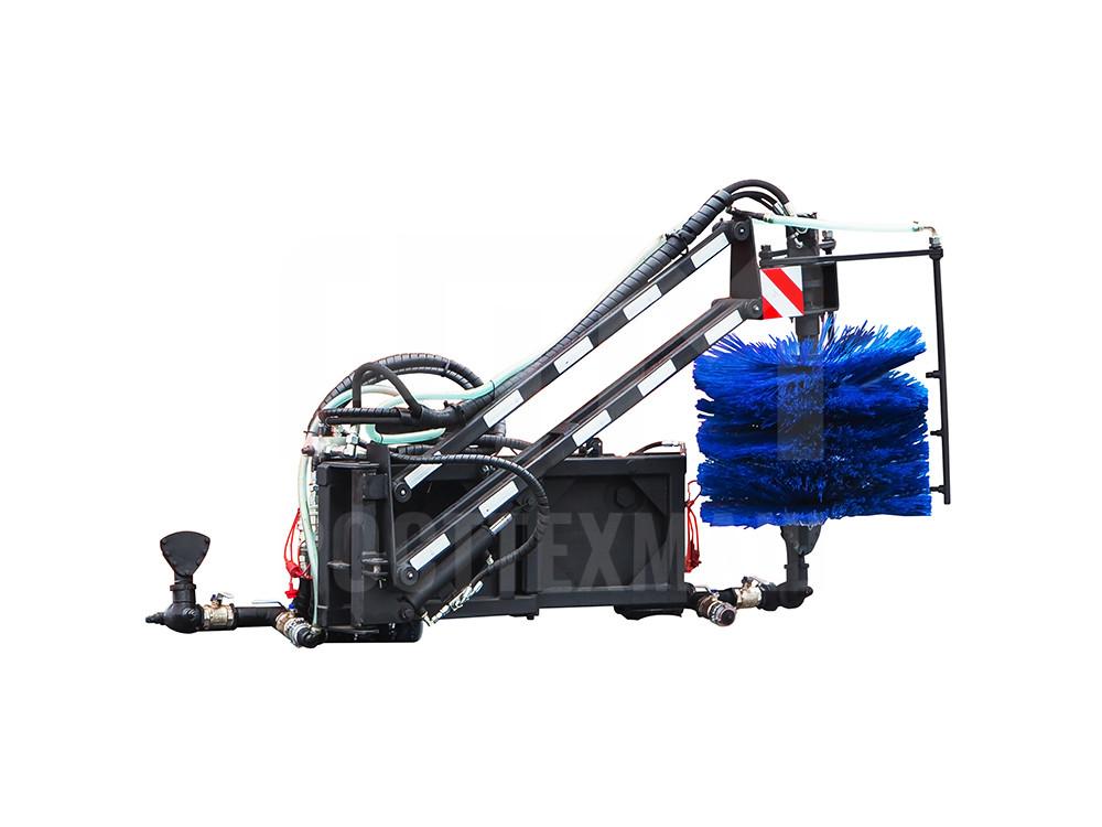 Купить Щетка для мойки барьерных ограждений КДМ и другое навесное оборудование для КДМ по низкой цене и на выгодных условиях от компании РостТехМаш!