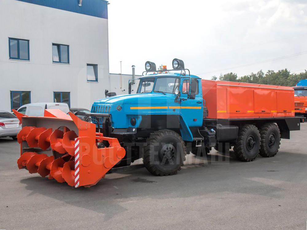 Купить Шнекороторный снегоочиститель УРАЛ ДЭ-226 и другое оборудование для уборки снега по низкой цене и на выгодных условиях от компании РостТехМаш!