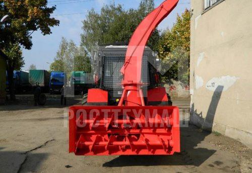 Купить Шнекороторный снегоочиститель ШРК-2,0-02 и другое оборудование для уборки снега по низкой цене и на выгодных условиях от компании РостТехМаш!