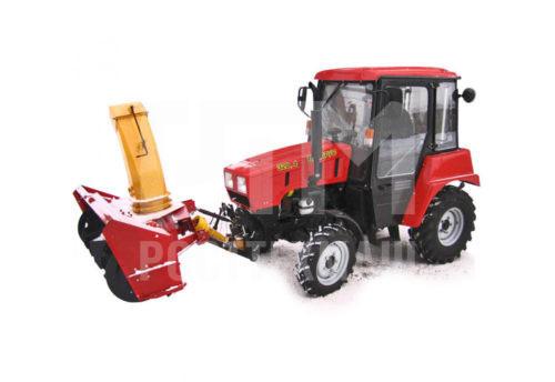 Купить Шнекороторный снегоочиститель СТ-1500 и другое оборудование для уборки снега по низкой цене и на выгодных условиях от компании РостТехМаш!