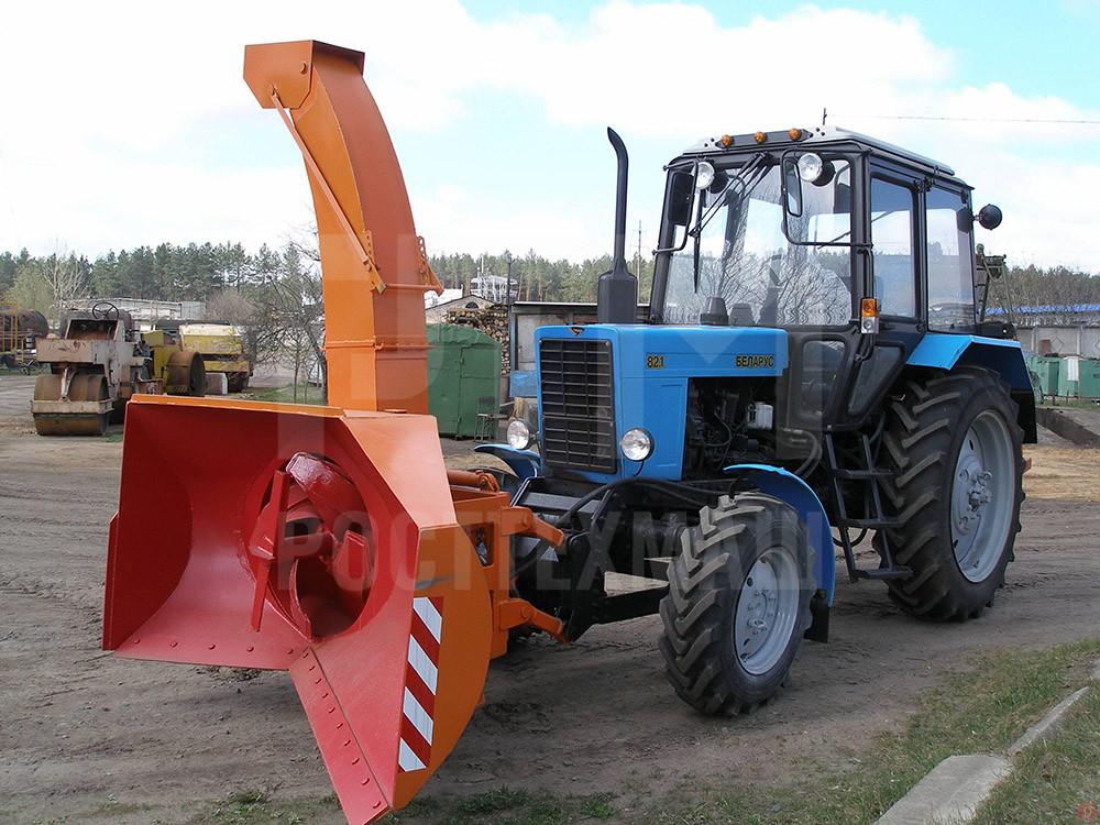 Купить Снегоочиститель роторный ЕМ 800 и другое оборудование для уборки снега по низкой цене и на выгодных условиях от компании РостТехМаш!