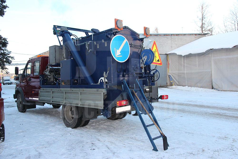 Купить Установка для ямочного ремонта «БАСТИОН-УЯР» и другое оборудование для ямочного ремонта по низкой цене и на выгодных условиях от компании РостТехМаш!