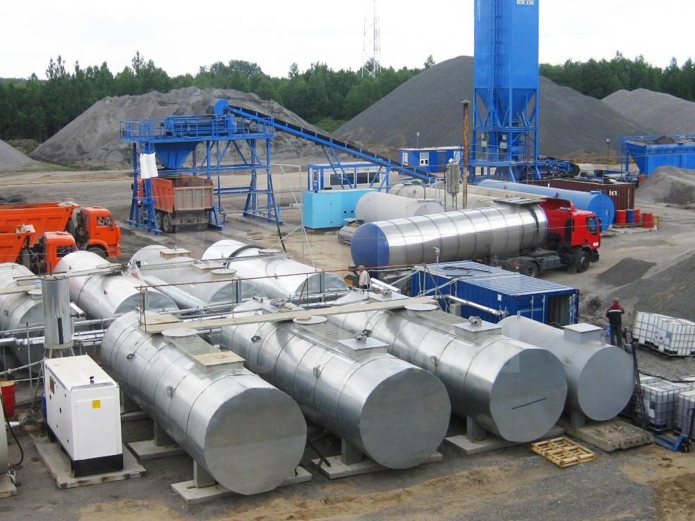 Купить Завод по производству битумной эмульсии и другое оборудование для производства ПБВ и битумных эмульсий по низкой цене и на выгодных условиях от компании РостТехМаш!