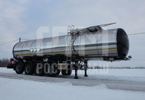 Купить Битумовоз четырехосный полуприцеп стальной SF4B30 и другое прицепное оборудование по низкой цене и на выгодных условиях от компании РостТехМаш!