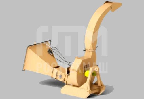 Купить Дробилка для веток ЕМ 210 с гидравлической подачей и другое навесное оборудование для МТЗ по низкой цене и на выгодных условиях от компании РостТехМаш!