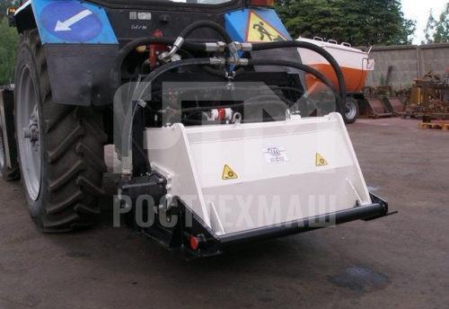 Купить Фреза гидравлическая ЕМ-1000 и другое навесное оборудование для МТЗ по низкой цене и на выгодных условиях от компании РостТехМаш!