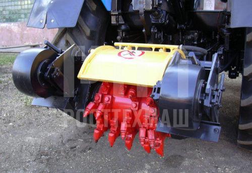 Купить Фреза механическая ДЭМ-121 и другое навесное оборудование для МТЗ по низкой цене и на выгодных условиях от компании РостТехМаш!