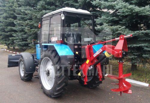 Купить Ямобур WIRAX WR25/50 и другое навесное оборудование для МТЗ по низкой цене и на выгодных условиях от компании РостТехМаш!