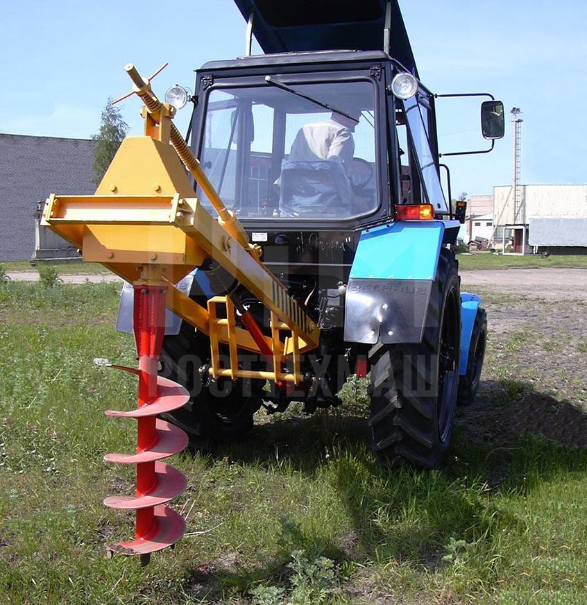 Купить Ямокопатель ДЭМ-112 и другое навесное оборудование для МТЗ по низкой цене и на выгодных условиях от компании РостТехМаш!