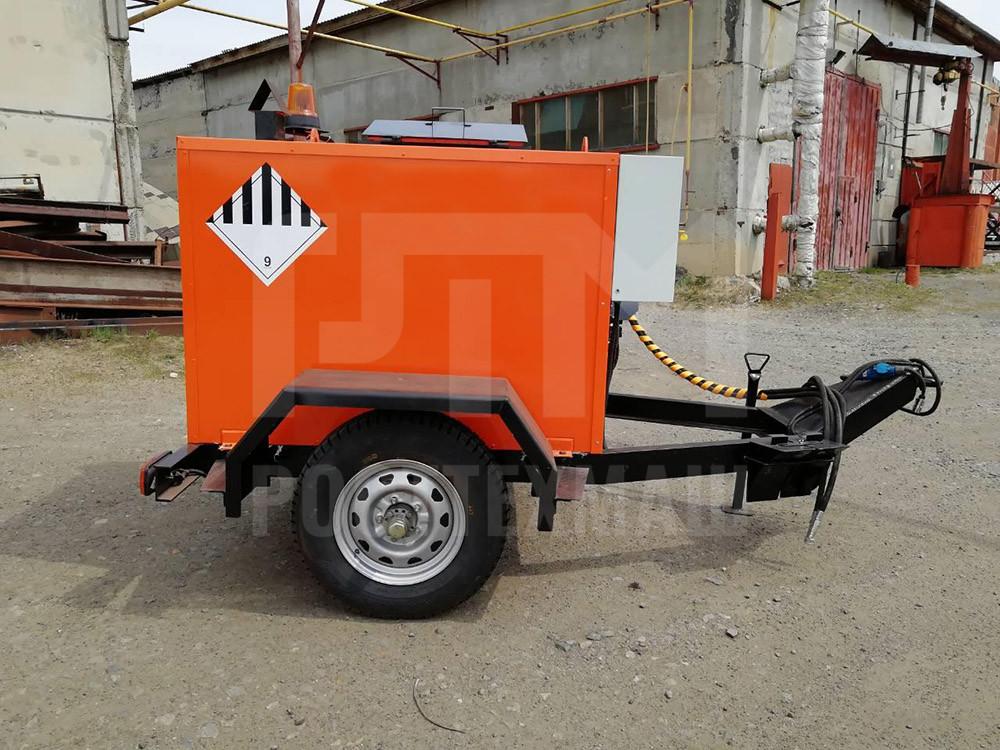 Купить Маслянный битумный котел ТМ-0,5БК и другое прицепное оборудование по низкой цене и на выгодных условиях от компании РостТехМаш!