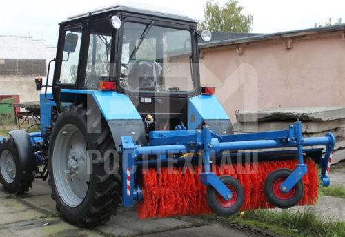 Купить Щетка коммунальная МК-4 (МК-454) и другое навесное оборудование для МТЗ по низкой цене и на выгодных условиях от компании РостТехМаш!